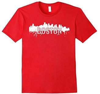 Boston Skyline Building City T-Shirt