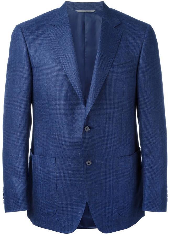 CanaliCanali patch pockets blazer