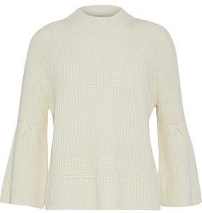 Joie Ingrit Ribbed Wool And Cashmere-Blend Sweater