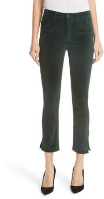 3x1 NYC W3 Higher Ground Mini Split Ankle Velvet Jeans