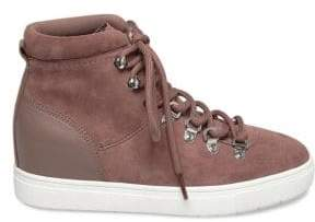 Kalea Suede High-Top Sneakers