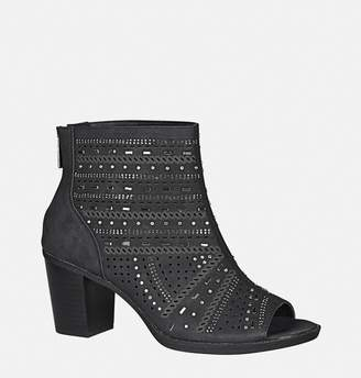 Avenue Hana Perforated Stud Bootie