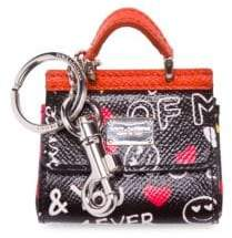 Dolce & Gabbana Patch Key Ring