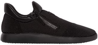 Giuseppe Zanotti Design Micro Studded Suede Running Sneakers