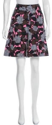 Dolce & Gabbana Floral Print Knee-Length Skirt