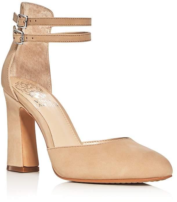 VINCE CAMUTO Dorinda Ankle Strap d'Orsay Pumps