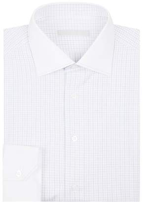 Cotton Grid Shirt
