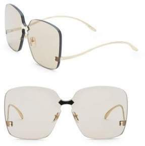 Gucci Fashion Inspired 99MM Square Shield Sunglasses