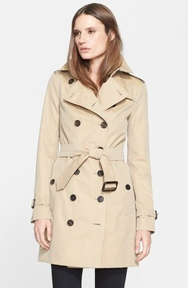 Women's Burberry London 'Sandringham' Slim Trench Coat $1,795 thestylecure.com