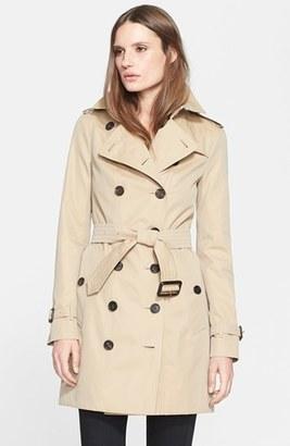 Women's Burberry London 'Sandringham' Slim Trench Coat $1,795 thestylecure.com
