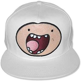 Finn Adventure Time Face Baseball Hat