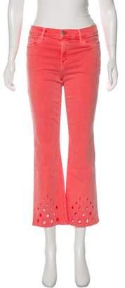 J Brand Selena Mid-Rise Eyelet Jeans w/ Tags