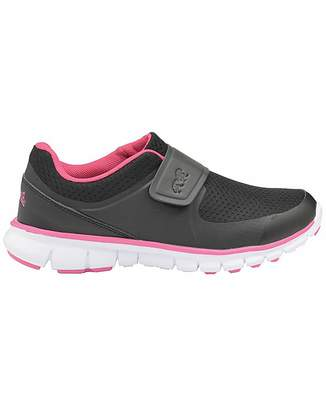 Lonsdale London Lima rip tape fastening girls trainers