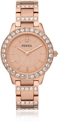 Fossil Jesse Rose Tone Women's Watch