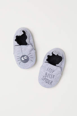 H&M Soft Slippers - Gray