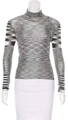 Missoni Turtleneck Striped Sweater