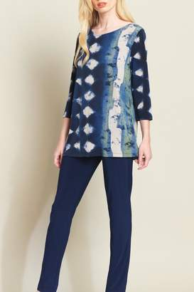 Clara Sunwoo Diamond Denim Tunic