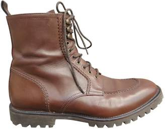 The Kooples Brown Leather Boots