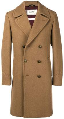 Paltò classic double-breasted coat