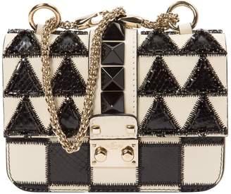 Valentino Glam Lock leather mini bag