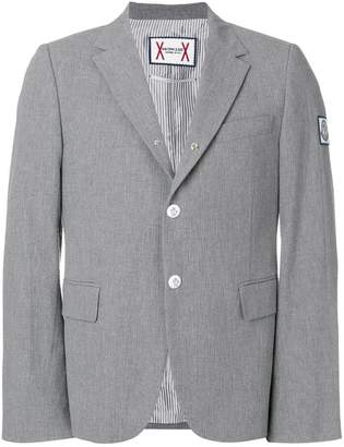 Moncler slim-fit button blazer
