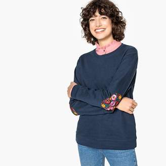 Best Mountain Sweatshirt with Embroidered Elbow Patches