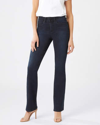 Jeanswest Tummy Trimmer Slim Bootcut Jeans Brushed Indigo