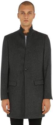 AllSaints High Collar Wool Coat