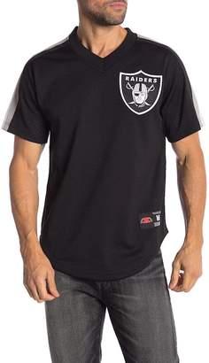 Mitchell & Ness Oakland Raiders Winning Team Mesh V-Neck Tee