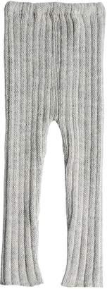 Oeuf Baby Alpaca Rib Knit Leggings