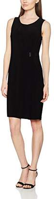 Betty Barclay Women's 6406/2431 Wrap Crew Neck Sleeveless Casual Clothes - Black