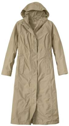 L.L. Bean L.L.Bean Women's H2OFF Primaloft-Lined Long Coat