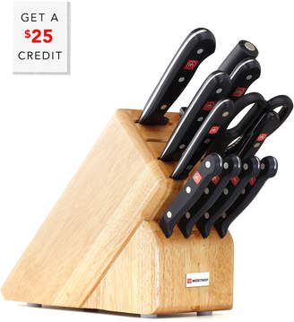 Wusthof Gourmet Twelve Piece Block Set