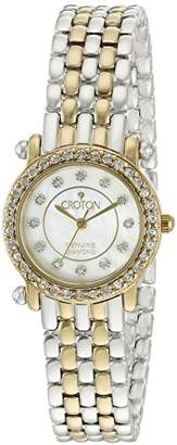 Croton Women's CN207535TTMP Analog Display Quartz Two Tone Watch