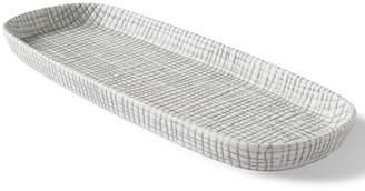 Kassatex Raffia Embossed Porcelain Tray Bedding