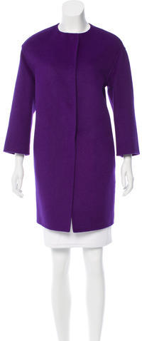 pradaPrada Wool & Angora-Blend Coat