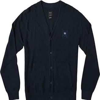 RVCA Men's CALI Cardigan Sweater