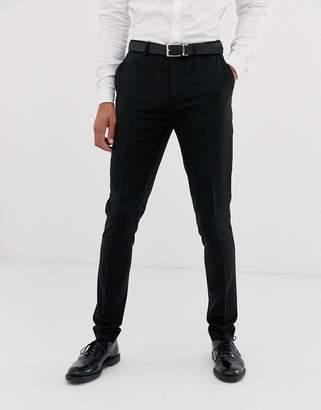Design DESIGN super skinny suit trousers in black