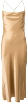 Dion Lee bias weave cowl dress