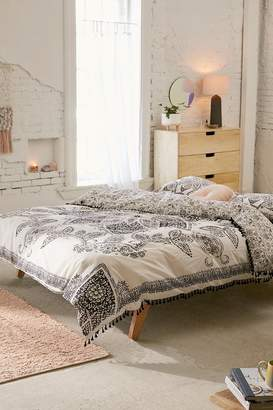 Valda Woodblock Medallion Duvet Cover