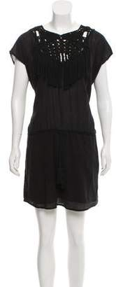 Ulla Johnson Crochet Sleeveless Dress