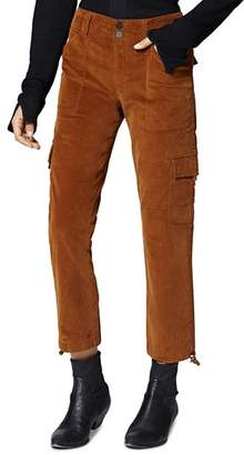 Sanctuary Terrain Corduroy Cropped Cargo Pants
