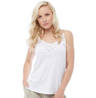 f3b9c5ca8d Urban Beach Womens All Laced Up Vest Top White