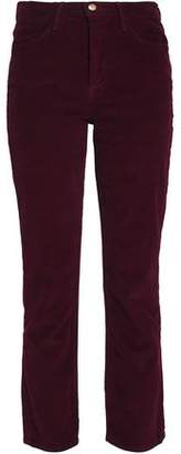 Frame Cotton-Blend Corduroy Slim-Leg Pants