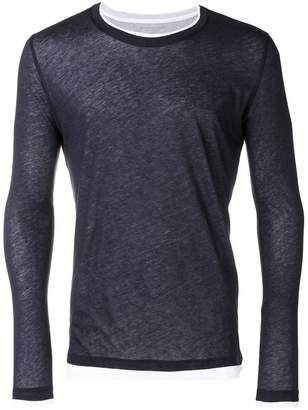 Majestic Filatures layered long sleeve T-shirt