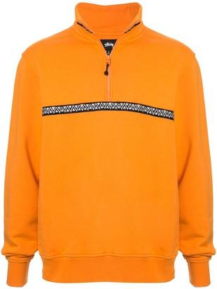 Stussy zigzag sweatshirt