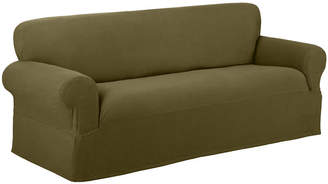 JCPenney Maytex Mills Maytex Smart Cover Reeves Stretch 1-pc. Loveseat Slipcover