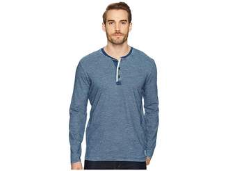 Lucky Brand Long Sleeve Henley Shirt Men's Clothing