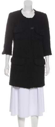 Smythe Three-Quarter Sleeve Short Coat