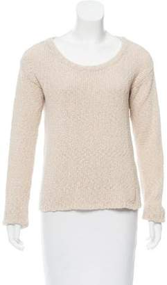 Alice + Olivia Scoop Neck Long Sleeve Sweater